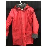 Lined rain coat