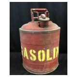 Vintage gas can