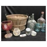 Jars, Basket & Misc