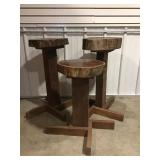 Bar Stools/ Plant Stands