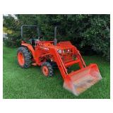 Kubota Tractor, Guns, Tools & Personal Property