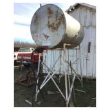 550 Gallon Fuel Tank and Stand