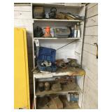 Shelving Unit w/ Tools and Contents