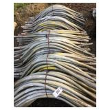 "Approx (240) Sticks of 1 1/2"" Aluminum Siphon Pipe"
