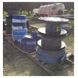 "(4) Pallets of 6"" Layflat Header Pipe"