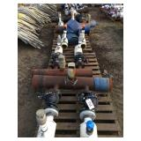 "(4) Pallets of 8"" Manifolds, Valves and Risers"