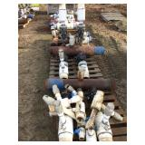 "(3) Pallets of 8"" Manifolds, Valves and Risers."