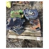 Pallet of Assorted Tractor Weights