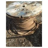 "Spool of 1"" Steel Cable"
