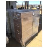 Pallet of (3) Four Drawer Filing Cabinets