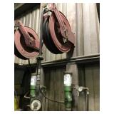Air Operated Pump and Hose Reel Set