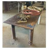 "32""x82"" Iron Work Table"