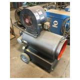 HOTSY Electric and Krosene Shop Heater