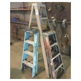Lot of (3) Ladders