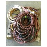 Pallet of Assorted Air Hoses