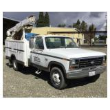 1986 Ford F-350 Dually Service Truck, 2wd, Gas