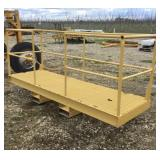 WELLCO Forklift Mounting Man Cage