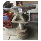 Large Anvil on Stand