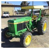 JOHN DEERE 2555 Tractor, MFWD