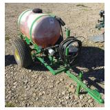 PBM 50 Gallon Poly Tank ATV Sprayer