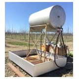 300 Gallon (Approx) Fuel Tank and Stand