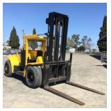 HYSTER H250E 25000Lb Cap Forklift, Diesel