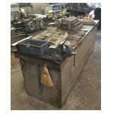 Workbench/Cabinet Unit w/ Metal Top and Tooling