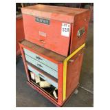 DUPLEX Rolling Toolbox With Some Tools