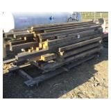 Pallet of Assorted Length Lumber