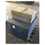 Large Metal Storage Box