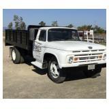 1963 Ford Dump Truck