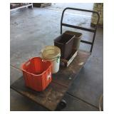 Steel Shop Cart