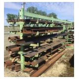 Lot of Fabricating Iron and Racking