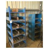 Lot of (2) Metal Shelving Units