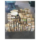 Pallet of Parts Boxes/Dividers
