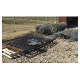 Lot of Chain Link Fencing
