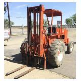 A-C 500 4000Lb Rough Terrain Forklift, Gas, 2wd