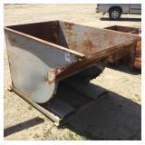 "44""x68"" Forklift Dump Bin Attachment"