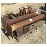 Pallet of Assorted Iron Stands