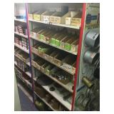 Shelving Section of Assorted Parts