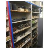 Shelving Section of PREMIER Trailer Parts