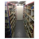 Lot of Parts Shelving (ALL SHELVING IN PARTS DEPT)