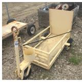 Yellow Welders Cart