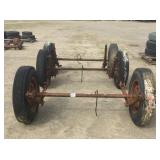 Lot of (3) Trailer Axles