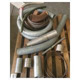 Pallet of Truck Exhaust Flex