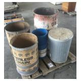 Pallet of Round Files