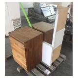 Pallet of Wooden Dressers