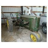 John Deere B 1942 (ser#138282) one owner,