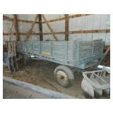 John Deere hay wagon w/Parkhurst bed