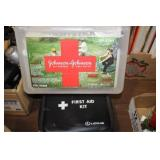PAIR OF FIRST AID KITS